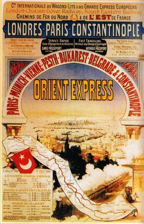 Orient Express Map Vintage Travel Posters Pinterest