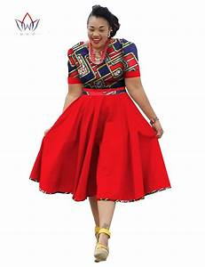 Plus Size Clothing 2017 spring Dress African Print Dress ...