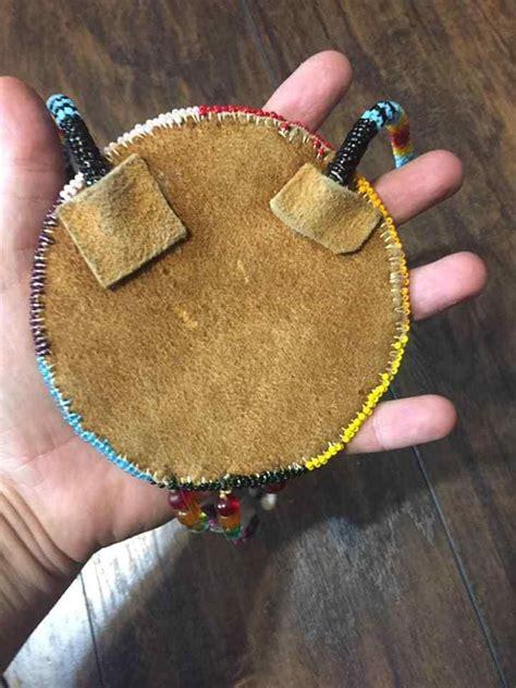 native american beadwork native beaded medallion pow wow