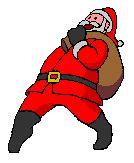 Imágenes animadas de Papa Noel Gifs de Navidad > Papa Noel
