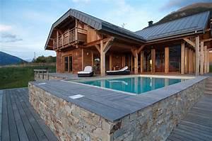 Ossature Bois Maison : constructeur maison ossature bois de r ves chalets bayrou ~ Melissatoandfro.com Idées de Décoration
