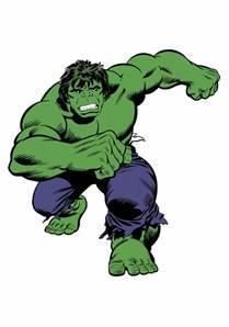 "42"" Hulk Comic Giant Wall Decal"