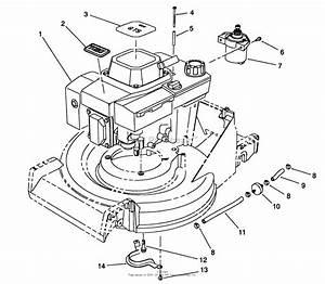 Toro 26624  Lawnmower  1988  Sn 8000001