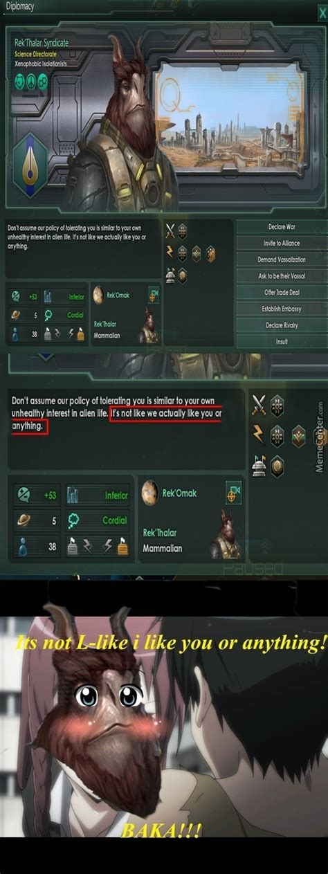Stellaris Memes - tsundere memes best collection of funny tsundere pictures