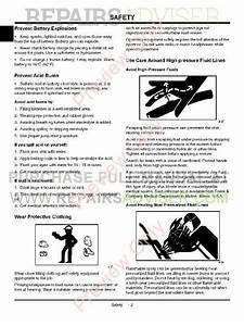 John Deere G100 And G110 Garden Tractors Technical Manual
