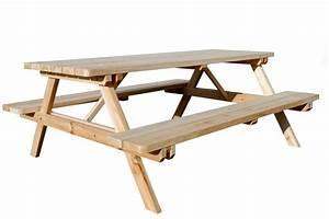 Table Bois Pique Nique : table table pique nique animaloo ~ Melissatoandfro.com Idées de Décoration