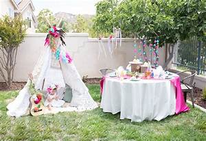 Bohemian Tribal Teepee Birthday Party - Ritzy Parties