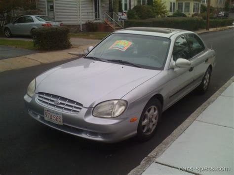 2001 Hyundai Sonata Mpg by 2001 Hyundai Sonata Sedan Specifications Pictures Prices