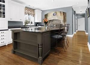 oak cabinets kitchen ideas light blue grey kitchen With kitchen colors with white cabinets with us navy stickers
