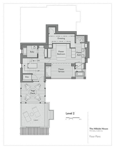 hillside floor plans hillside home plans house plan 2017