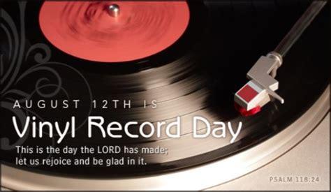 vinyl record day  national  international days