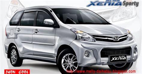 Mobil Daihatsu Grand Xenia by All New Xenia Sporty Mobil Daihatsu