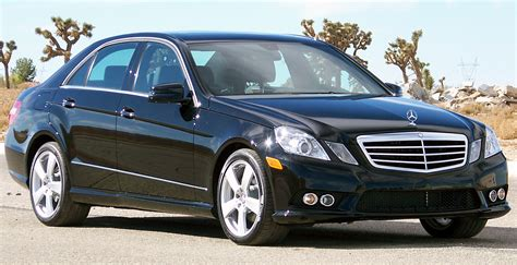 The body styles of the range are: Mercedes-Benz W212