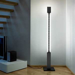 aurora tower 180 floor lamp by lumina lighting modern With modern tower floor lamp
