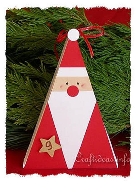 christmas crafts paper crafts santa claus gift box