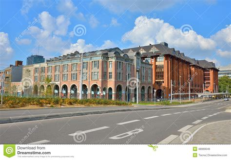 Business Quarters Center Of Charleroi Editorial Photo Image Of Intensive