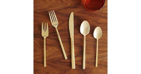 gold flatware sets popsugar