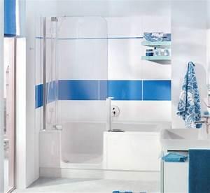 Badewanne Mit Dusche Kombiniert : bad wellness24 artweger twinline 2 badewanne mit t r und dusche f r nische 160 ~ Sanjose-hotels-ca.com Haus und Dekorationen