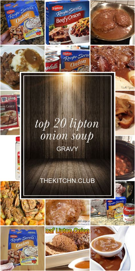 That's right, he made lipton onion soup potatoes. Beef Stew Made With Lipton Onion Soup Mix : Dry / For an easy and hearty beef stew dish, you ...