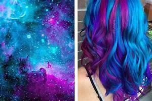 Haare Tönen Farben : wir f rben unsere haare jetzt in galaktischen farben ~ Frokenaadalensverden.com Haus und Dekorationen