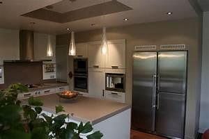 Frigo Americain Avec Glacon : cuisine avec frigo americain iv66 jornalagora ~ Premium-room.com Idées de Décoration