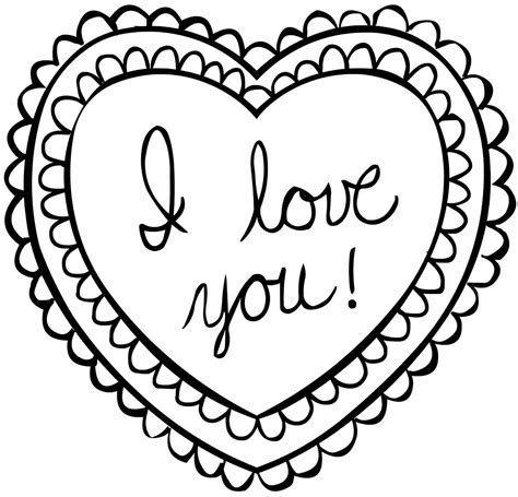 valentines day coloring page coloring pages best coloring pages for