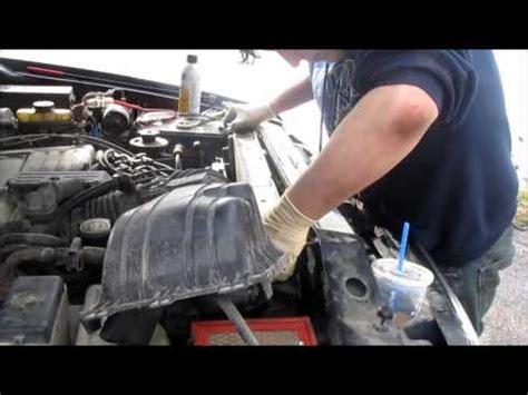 diy ford explorer radiator replacement youtube
