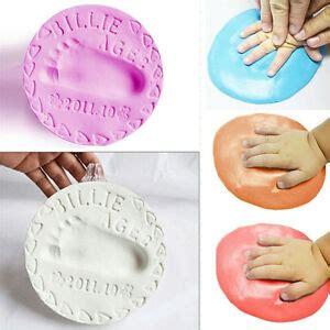 handabdruck baby welche farbe 1paket baby 3d gips abdruck handabdruck fu 223 abdruck abform sicher letten 16 farbe ebay