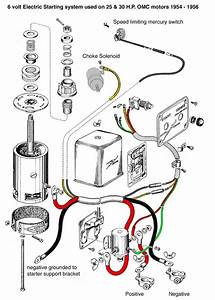 Johnson Outboard Wiring Diagram For 1956