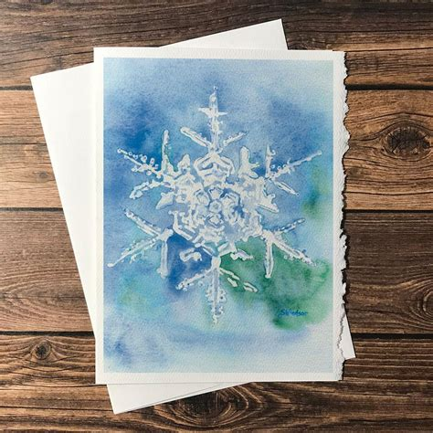Check spelling or type a new query. Snowflake Watercolor Painting Christmas Card Set - Susan Windsor