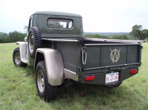 willys jeep pickup for sale willys truck tailgate jeeptruck com for sale 1954