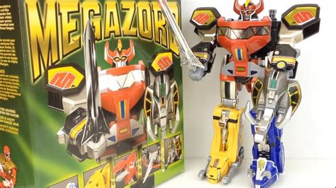 Mighty Morphin Power Rangers Legacy Megazord - YouTube