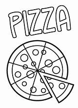 Pizza Coloring Pages Printable Sheets Enjoy Fnaf Italian Preschool Colouring Cool Pump Fun Eat Sheet Delicious 2006 Slice Letter Printables sketch template
