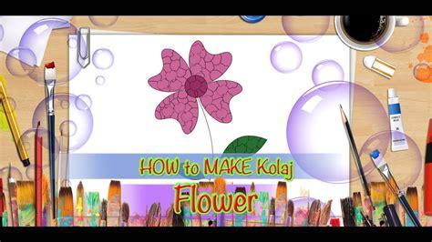 diy    collage flower creative collage art