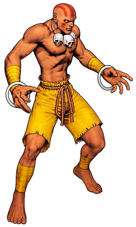 Dhalsim Street Fighters Character Profile 2