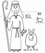 Shepherd Coloring Pages Sheep Christmas Drawing Jesus Shepherds Printable Madeline Sunday Bible Lost Ever Lamb Preschool Hatter Getcolorings Template Drawings sketch template