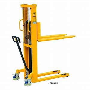 Manual Stackers 500kg Or 1 000kg Capacity