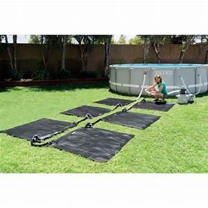 Piscine Hors Sol Rectangulaire Intex : tapis solaire chauffant pour piscine hors sol intex ~ Melissatoandfro.com Idées de Décoration