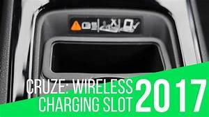 2017 Chevrolet Cruze  Wireless Charging Slot