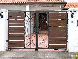 Iron Pipe Gate Design For Home - Homemade Ftempo