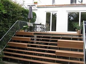 Terrasse mit treppe for Terrasse mit treppe