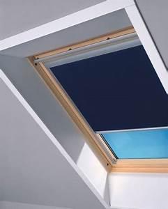 Store Pour Fenetre De Toit : store occultant bleu en toile polyester pour fen tre de ~ Edinachiropracticcenter.com Idées de Décoration