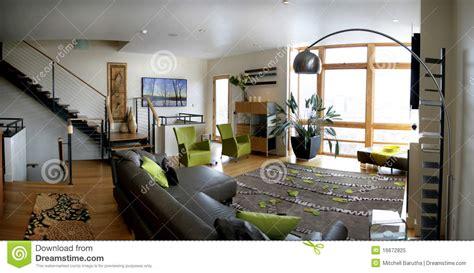 loft living room royalty  stock photo image