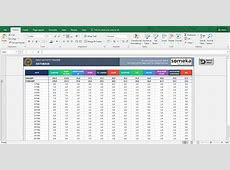 Activity Tracker Printable Excel Template for Personal Plans