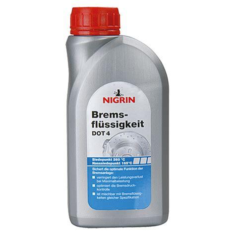 dot 4 bremsflüssigkeit nigrin bremsfl 252 ssigkeit dot 4 500 ml bauhaus