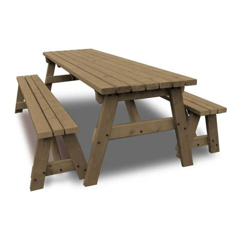 Picnic Table Bench Kit by Langdale Picnic Table And Bench Set Picnic Benches