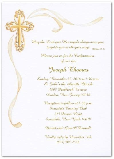 free printable confirmation invitations Confirmation