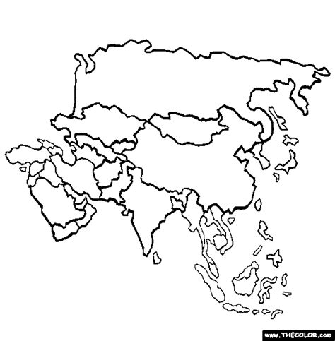 asia coloring page  asia  coloring digital