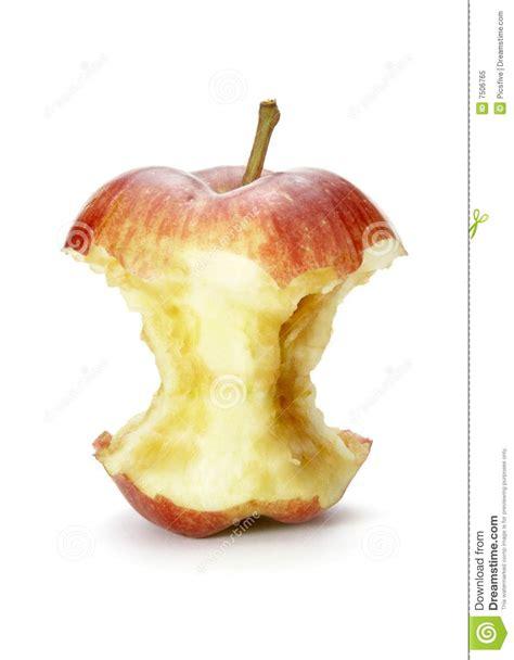 Apple bite 1 stock image. Image of bitten, clipping ...