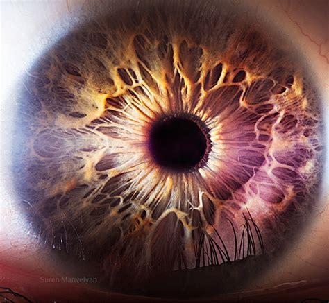 fascating extreme close ups   human eye spirit